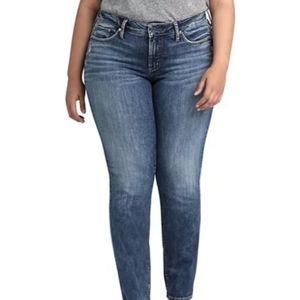 🆕️ NWT Silver Suki Slim Leg Jeans Size 16